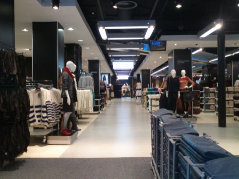Primark Oxford Street east interior