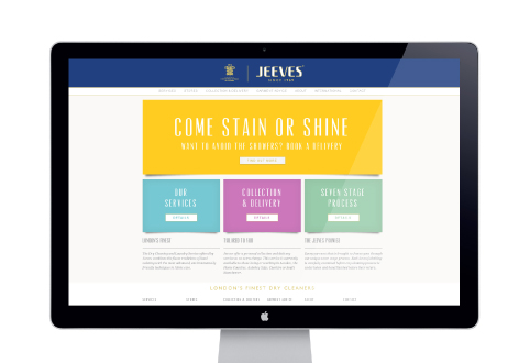 Jeeves website