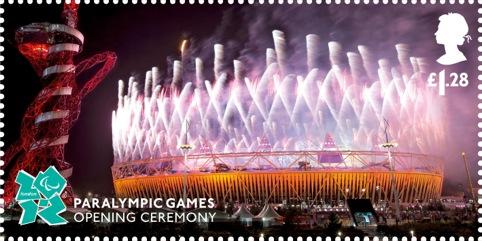 Paralympic Memories £1.28 stamps