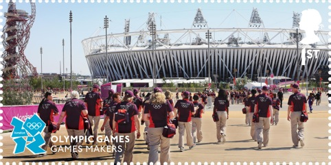 Olympic Memories 1st class stamps