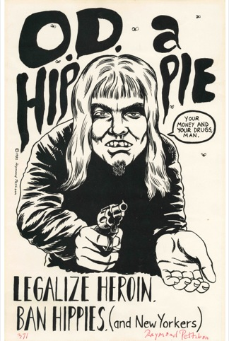 Raymond Pettibon flyer and poster art, Los Angeles, 290 California, circa 1978–1982