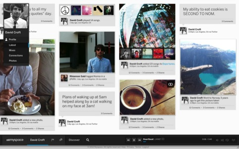 Preview of the new Myspace design