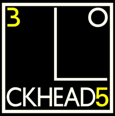 The Blockheads 35th logo