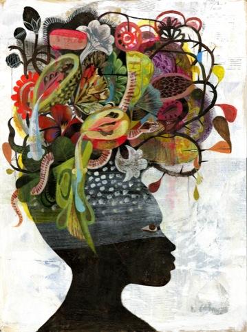 African Beauty, by Olaf Hajek