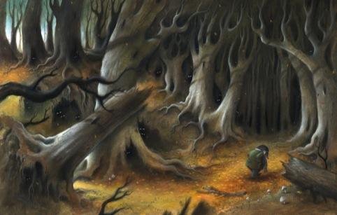 The Wild Wood, by Richard Johnson