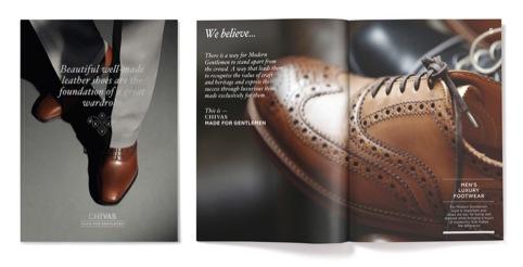 Chivas Made for Gentlemen supporting materials