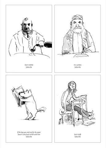 Peter Campbell's cartoon