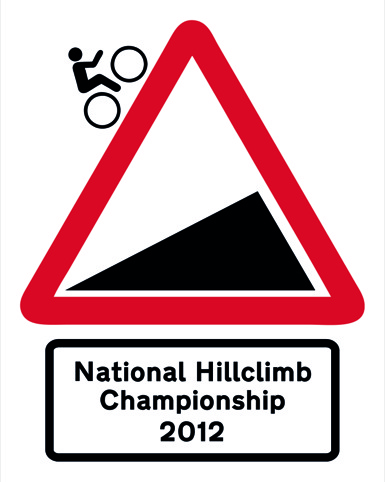 The British National Hill Climb Championship logo