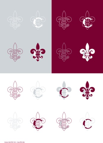 Colbert logo variations
