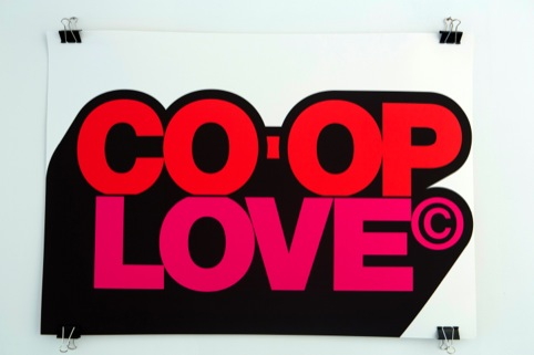 Co-op Love, by Calverts Design