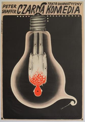 Czarna Komedia, by Franciszek Starowieyski, 1969