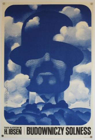 Budowniczy Solness (The Master Builder) by Waldemar Swierzy, 1971