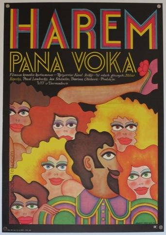Harem by Andrzej Krajewski, 1971