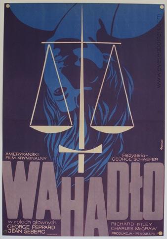 Wahadlo by Zygmunt Bobrowski, 1971