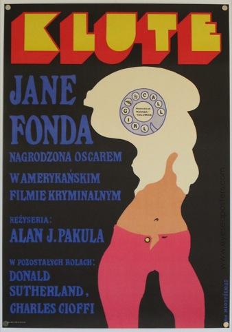 Klute by Jan Mlodozeniec, 1973