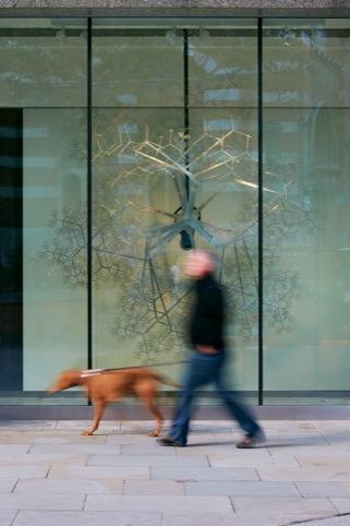 Art Installations at 123 Victoria Street, Conrad Shawcross