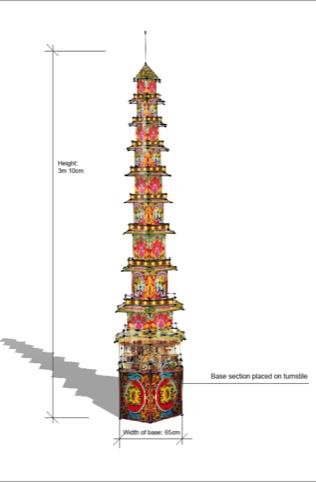 Fairground Pagoda
