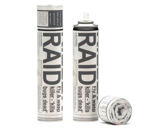 Hayley Barret, Raid packaging