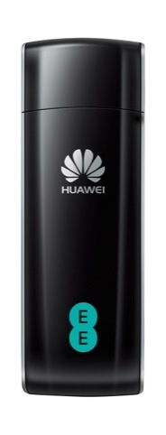 EE branding shown on Huawei E392 Mobile Broadband USB Stick