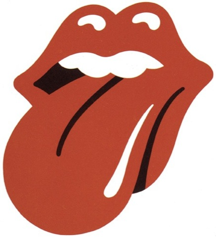 Rolling Stones logo, by John Pasche, 1971
