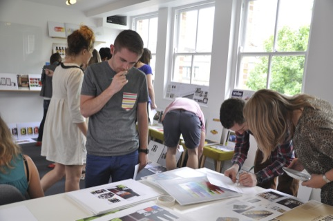 Judging the Design Bridge student awards