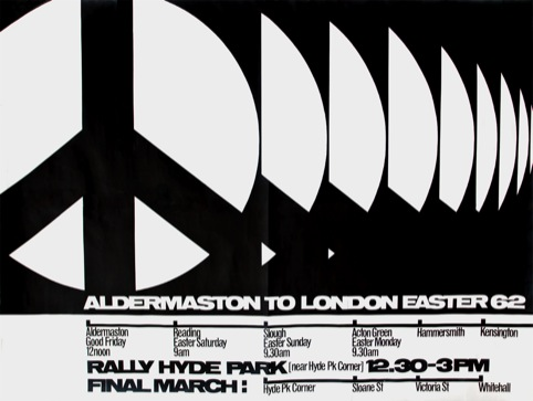CND poster, 1962