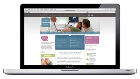 London Ultrasound Centre website
