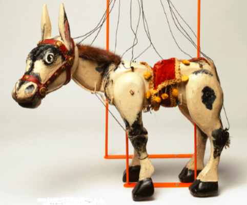 Michael Rosen has written a sestude on Muffin the Mule