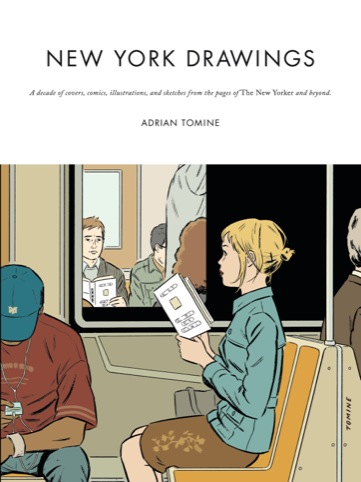 New York Drawings cover, Adrian Tomine