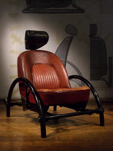 Rover Chair, 1981, by Ron Arad