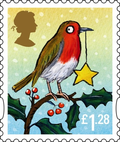 The Royal Mail's £1.28 stamp