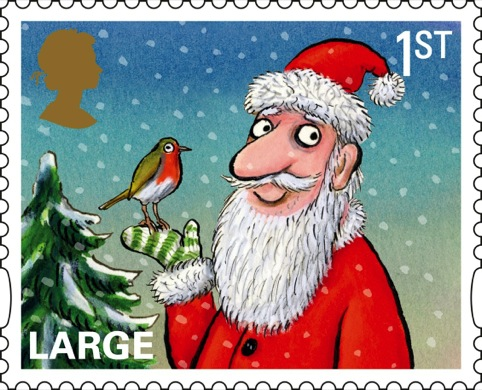 The Royal Mail's large 1st class stamp