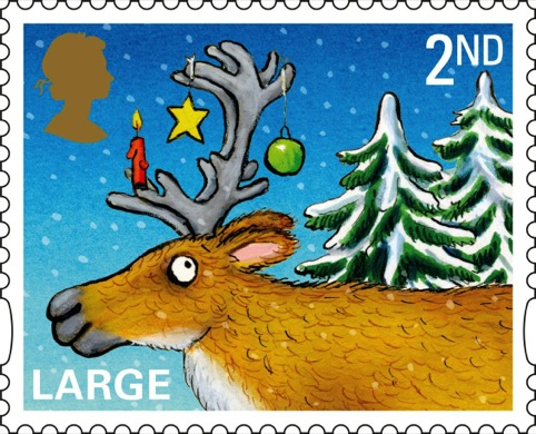 The Royal Mail's Large 2nd class stamp
