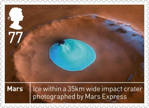 Royal Mail Space Science Mars 77p