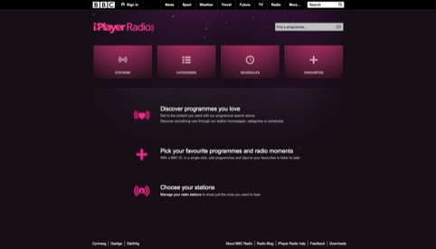 BBC Radio Homepage