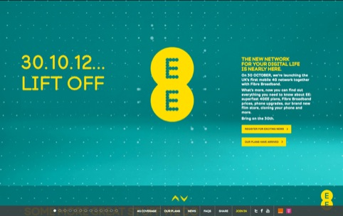 EE holding website