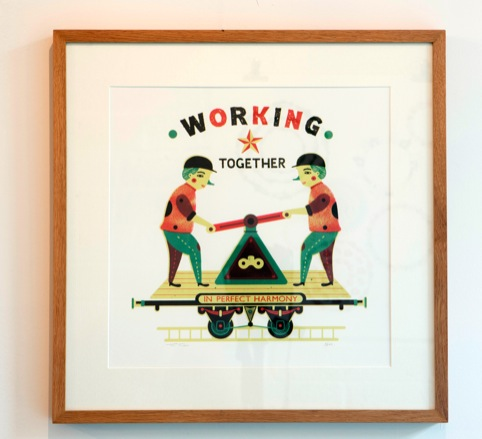 Working Together, by Tom Frost