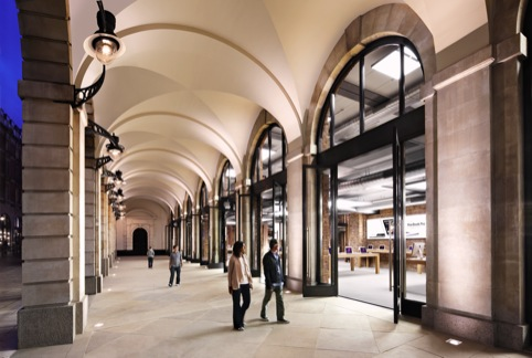 The Apple Store in London's Covent Garden