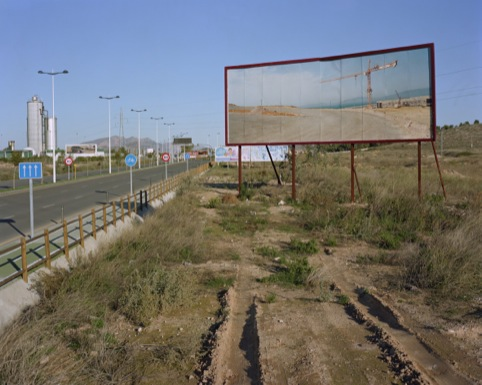 Corinne Silva, Port Tanger Med placed in highway leading to retail park, Murcia
