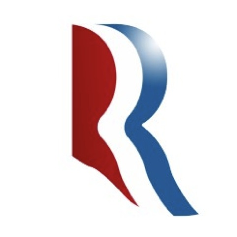 Romney's R marque