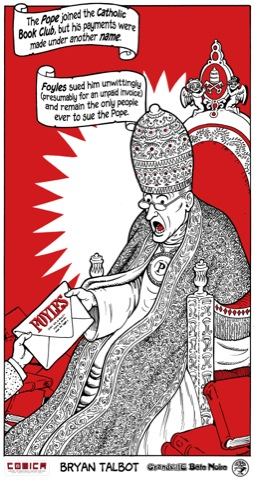 Suing the Pope, by Bryan Talbot