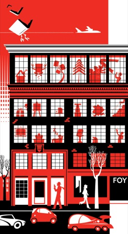The future of Foyles, by Rian Hughes