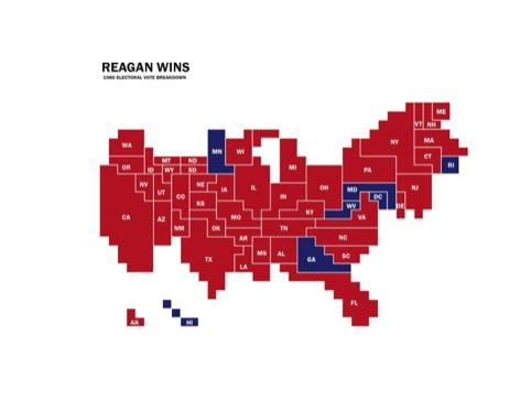 1980 electoral map