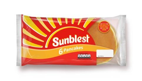 Sunblest pancakes