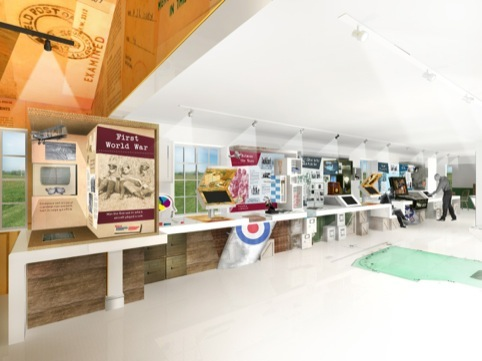 Duxford's Story features 'boxed memories'