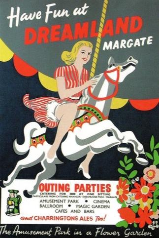 1950s Dreamland poster