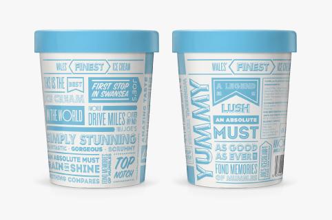 Joe's ice-cream tubs