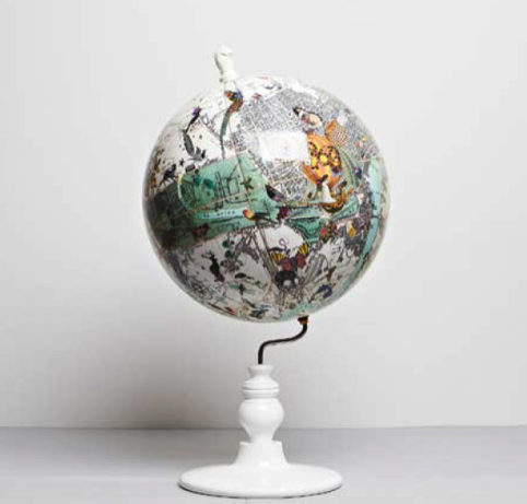 Kristjana S Williams Studio globe