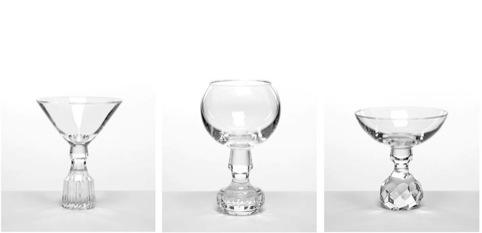 Lee Broom's Half-Cut glassware range