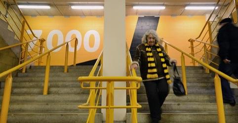 Supergraphics at the stadium